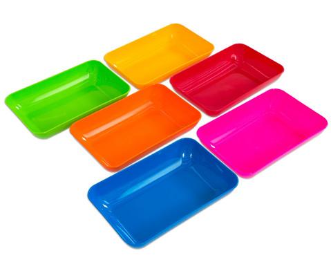 Materialschalen gross 5 Stueck in einer Farbe-3