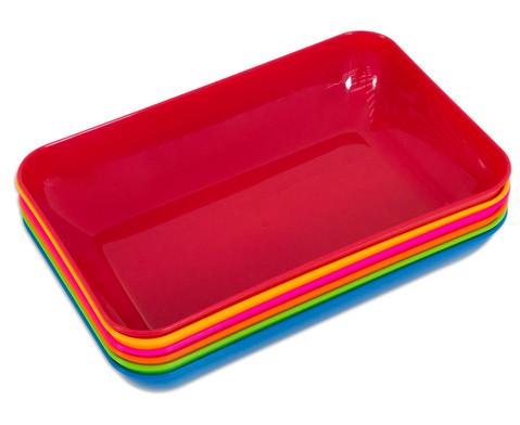 Materialschalen gross 5 Stueck in einer Farbe-4