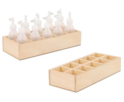 Holzbox fuer Kleberflaschen