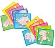 Playmais Mosaic-Karten, 6 Stück