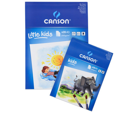 CANSON Malblock fuer Kinder-1