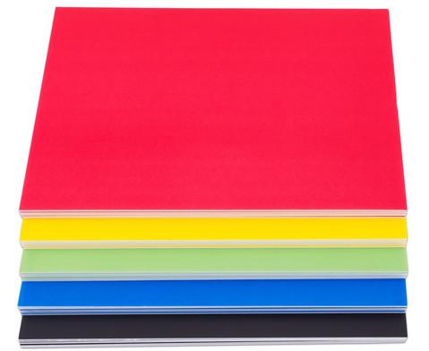 Foamboards 5 Stueck verschiedene Farben-2