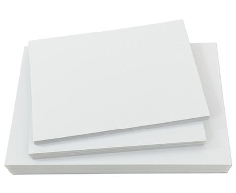 Polystyrolplatten papierbeschichtet weiss-1