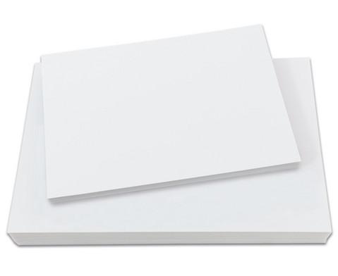 Polystyrolplatten papierbeschichtet weiss