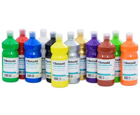 Betzold Temperafarbe 1 l verschiedene Farben