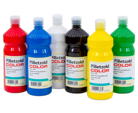 Temperafarben verschiedene Farben-1