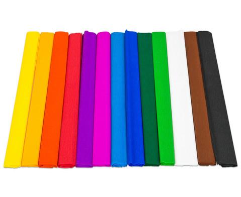 Krepp Papier Set mit 10 Rollen-2
