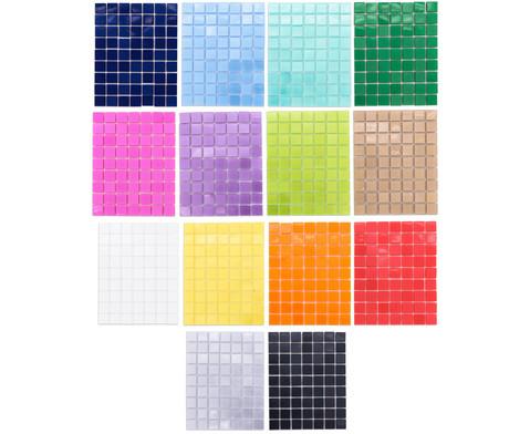 Selbstklebende Mosaikplaettchen 10x10mm-2