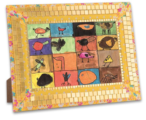 Selbstklebende Mosaikplaettchen 10x10mm-4