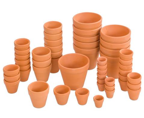 Terracotta-Toepfe 10 Stueck
