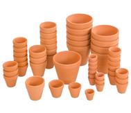 Terracotta-Töpfe, 10 Stück