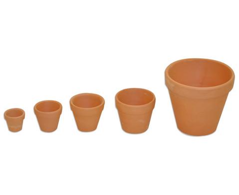 Terracotta-Toepfe 10 Stueck-6