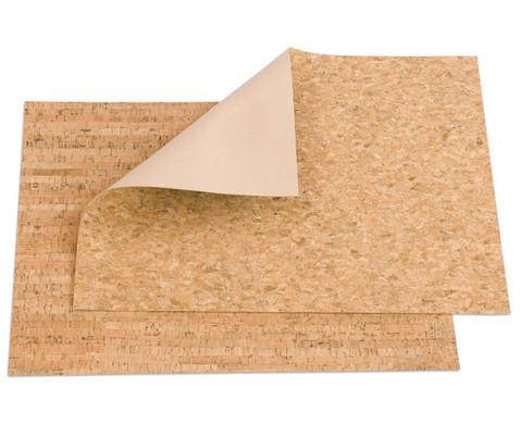 Korkleder 45 x 35 cm
