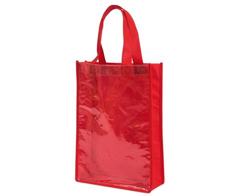 Tasche A4 Hochformat rot