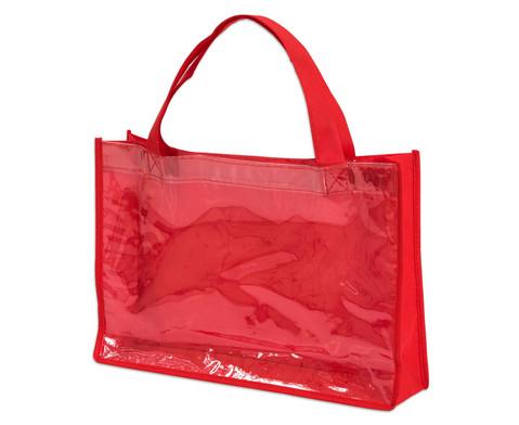 Tasche A4 Querformat rot