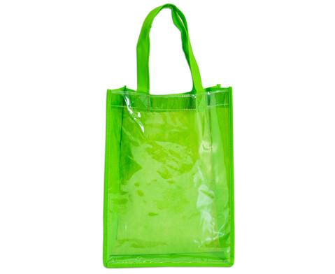 Tasche A4 Hochformat gruen