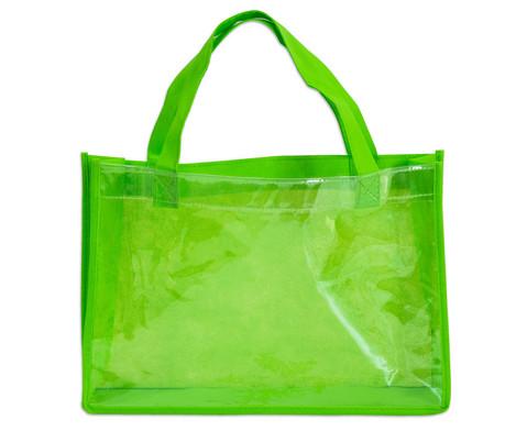 Tasche A4 Querformat gruen