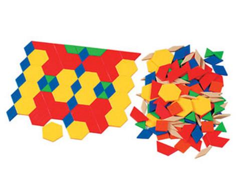 Pattern-Blocks aus Kunststoff oder Holz-1