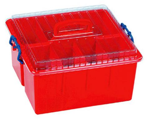Sortierbox  mit Deckel und Griff-1