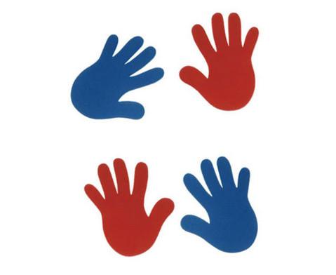 Hand-Bodenmarkierung einzeln-2