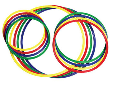 Gymnastik-Reifen 4 Stueck bunt-1