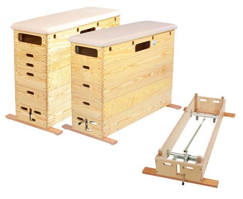 Sprungkasten mit Schwenkrollen-Unterbau-1