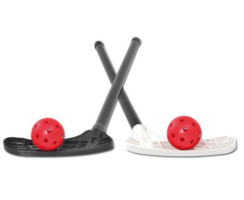 Unihockey-Schlaeger mit gebogener Schaufel-1