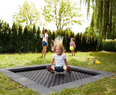 EUROTRAMP Bodentrampolin Kids Tramp Playground