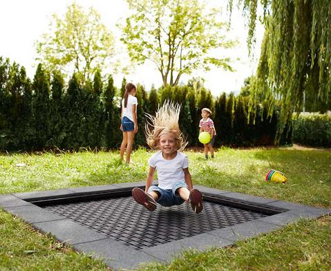 EUROTRAMP Bodentrampolin Kids Tramp Playground