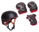 HUDORA Protection-Set Helm inkl Protektoren-1