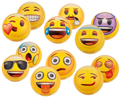 emoji-Kunststoffball