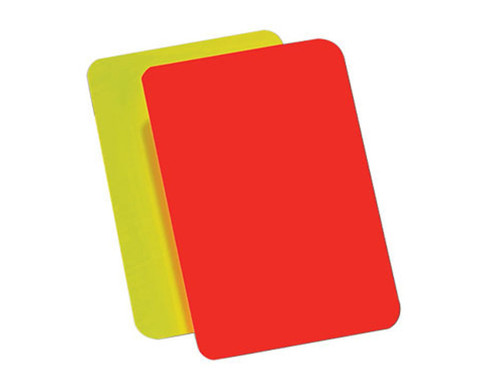 Betzold Schiedsrichter-Karte
