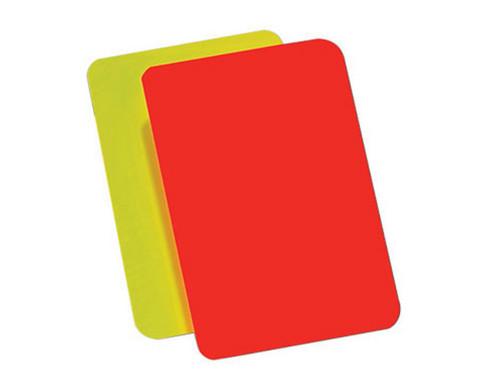 Betzold Sport Schiedsrichter-Karten 4 Stueck