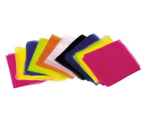 5 Jonglier-Tuecher 65 x 65 cm in einer Farbe-2