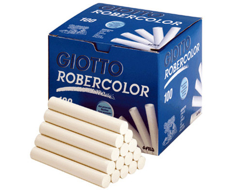 Karton mit 100 ROBERCOLOR-Kreiden rund