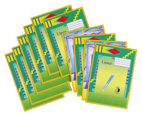 Schulheft 10er-Set DIN A5-1