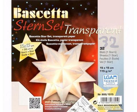 Bascetta Sternset Transparent 15 x 15 cm-3