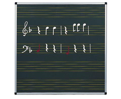 Haft-Notentafeln - Stahl-Emaille-1