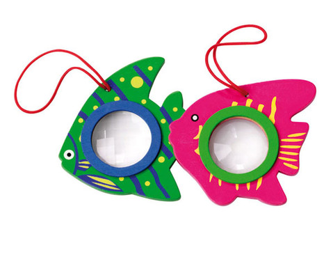 Fliegenauge im Fischdesign-1