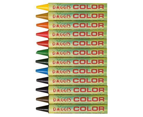 Wachsmalstifte Einzelfarben