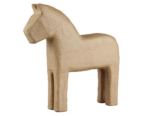 Pappmach-Pferde im Set-1