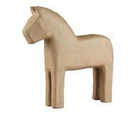 Pappmaschee-Pferde im Set