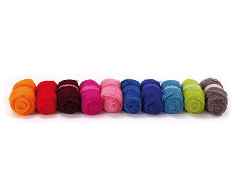 Maerchenwolle in Einzelfarben je 100 g