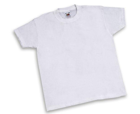 Weisse Kinder-T-Shirts 12 Stueck-1