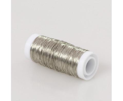 Kupferdraht silber