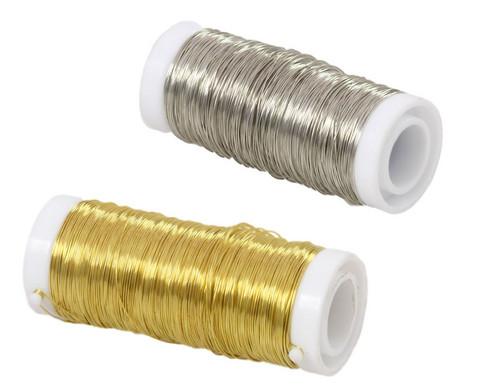 Kupferdraht silber oder gold