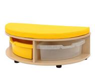 Maddox Sitzbankkombination 1, gelbe Sitzmatten