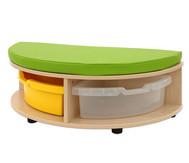 Maddox Sitzbankkombination 1, grüne Sitzmatten