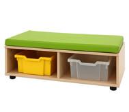 Maddox Sitzbankkombination 3, grüne Sitzmatten