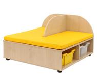 Maddox Sitzbankkombination 2, gelbe Sitzmatten